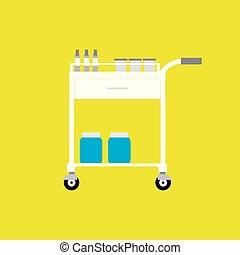 equipamento, médico