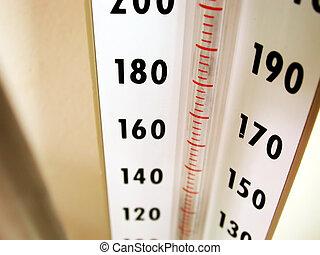 equipamento, médico, -, medidor, pressão, sangue