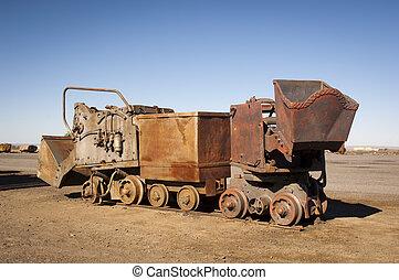 equipamento, mineração