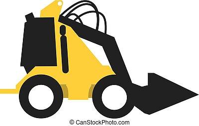 equipamento pesado, veículo