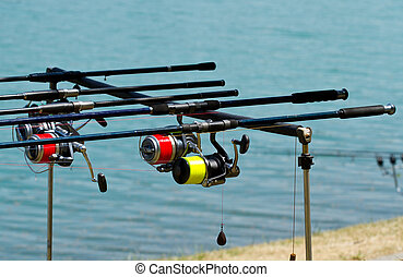 equipamento pescaria