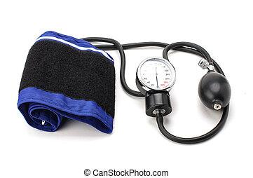 equipamento pressão sangue, sphygmoman