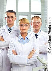 equipe, médico