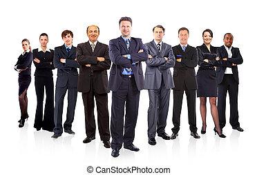 equipe negócio, formado