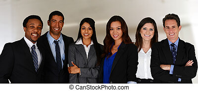 equipe negócio