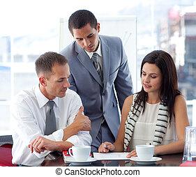 equipe negócio, trabalhe