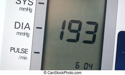 Equipment for blood pressure testing
