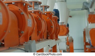 equipment for flour manufacturing