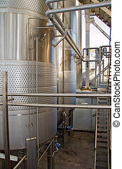production of wine