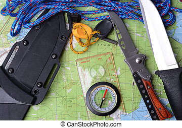 Equipment for survival.