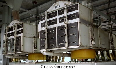 Equipment for the processing of sunflower seeds. Production...