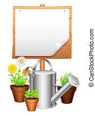 equipment., giardino