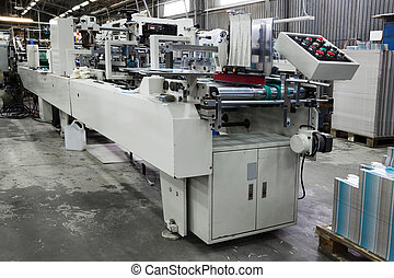 equipment in printing house
