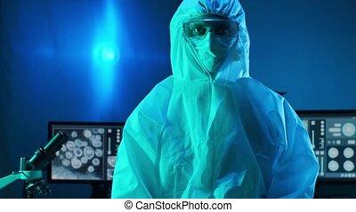 equipment:, laboratoire, danger, coronavirus, recherche, ...