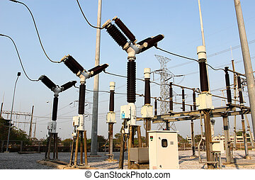 Equipment of high-voltage electric substation