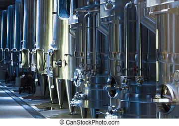 equipment of  winery
