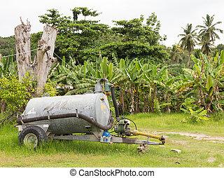 equipment on a farm