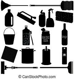 equipments, 世帯, 清掃