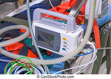 equipments, 醫學, 去纖顫器, 服務, 緊急事件