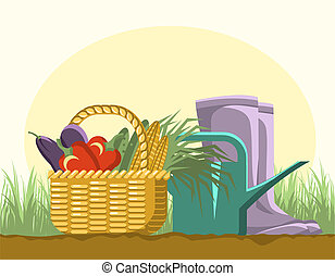 equipments, jardinage