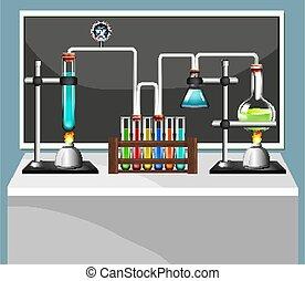 equipments, laboratoire, science