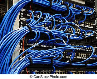 equipments, sala, servidor