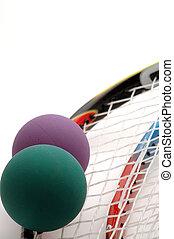 equipo, 5, racquetball