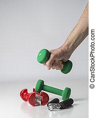 equipo, condición física