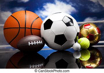 equipo de deportes, detalle