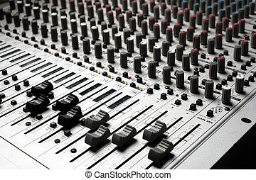 equipo de grabación, audio