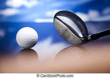 equipo del golf