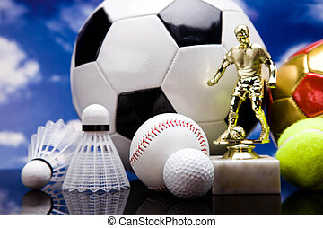 equipo, deporte