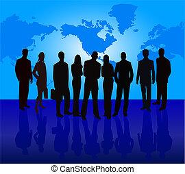 equipo, empresa / negocio