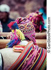 equipo, indígena, perú