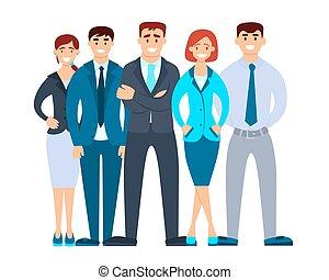 equipo negocio
