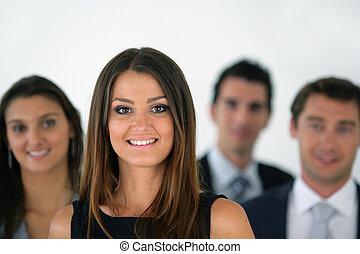 equipo negocio, posición, consecutivo