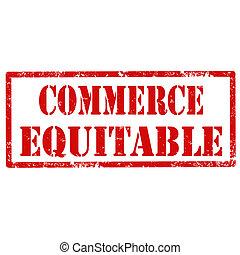 equitable-stamp, handel