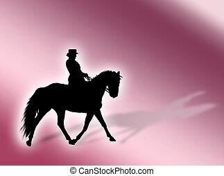Equitation background