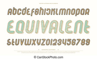 equivalent - set of stylized alphabet letters and numbers...