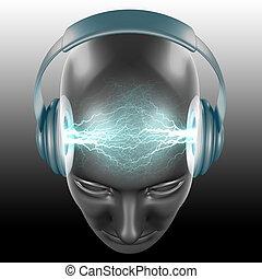 erő, zene