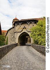 erődítmény, 2, ajtó, rothenburg