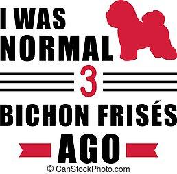 era, frises, normal, ago, bichon, 3