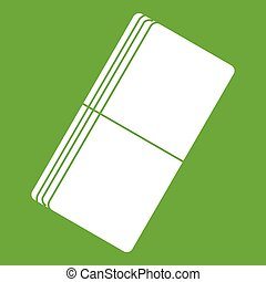 Eraser icon green