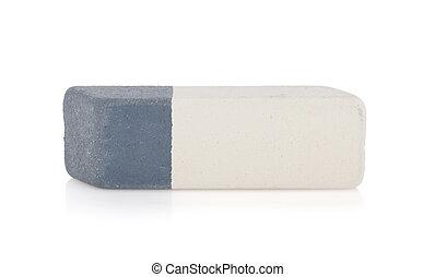 Eraser. Isolated on white background