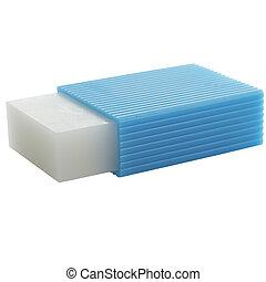 Eraser - Rubber eraser close-up