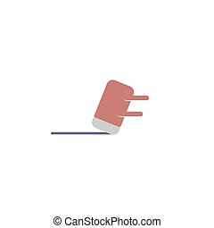 eraser vector design template illustration