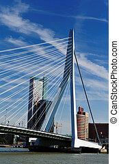 Erasmus bridge in Rotterdam the Netherlands, Europe