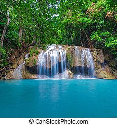 erawan, cascata