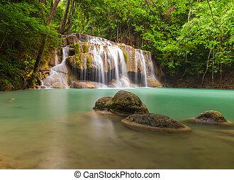 Erawan waterfall leval 2.