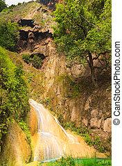 Erawan waterfall level 7.